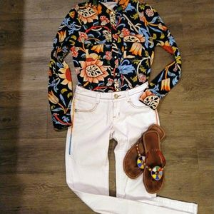 70's Style Groovy Psychedelic blouse